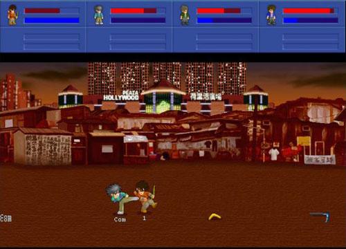 لعبة الاكشن المقاتل الصغير Little Fighter 2