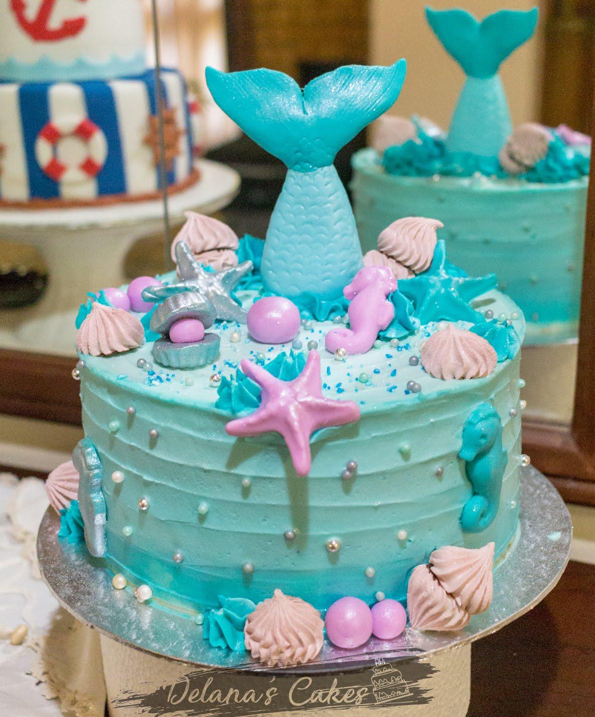 Delana S Cakes Mermaid Cake