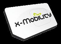 x-mobility sim card logo