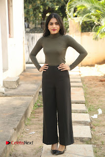 Tollywood Actress Punarnavi Bhupalam Latest Po Gallery in Black Trouser Pant at Pittagoda Movie Interview  0126.JPG