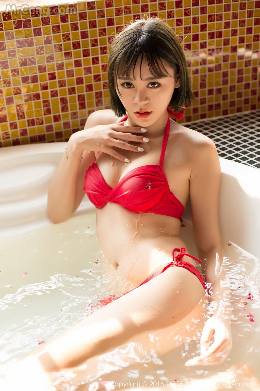 Image MrCong.com-TASTE-Vol.014-Wang-Meng-Meng-008 in post TASTE Vol.014: Người mẫu Wang Meng Meng (汪萌萌) (45 ảnh)