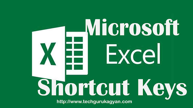 ms-excel-shortcut-keys