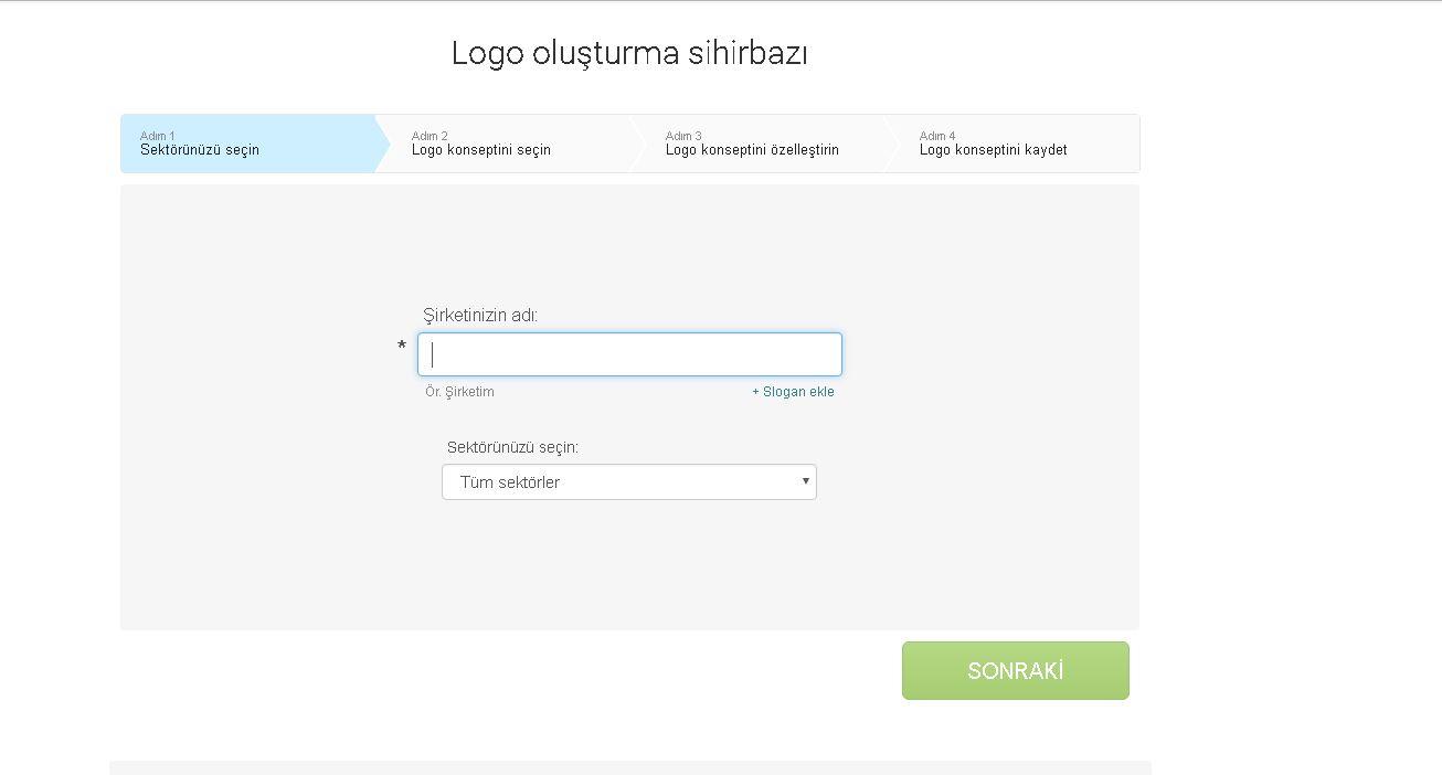 Logaster Online Logo Tasarım Programı - Serkan Gündoğdu