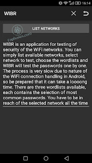 How to use WIBR (WiFi BruteForce) to hack wifi on android