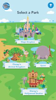 Play Disney Parks Menu