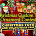 Christmas Custom Toy Ornament Contest