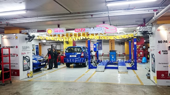 Pusat Servis Kereta Citicars Untuk Balik Kampung