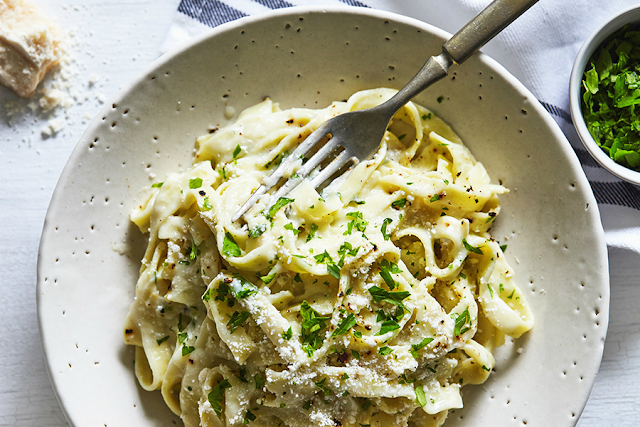 21 Day Fix approved Fettuccine Alfredo