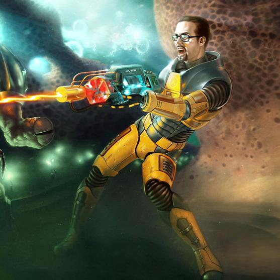 Half-Life Wallpaper Engine