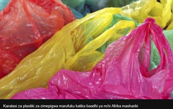 Je ni kweli mifuko ya plastiki inasababisha saratani?