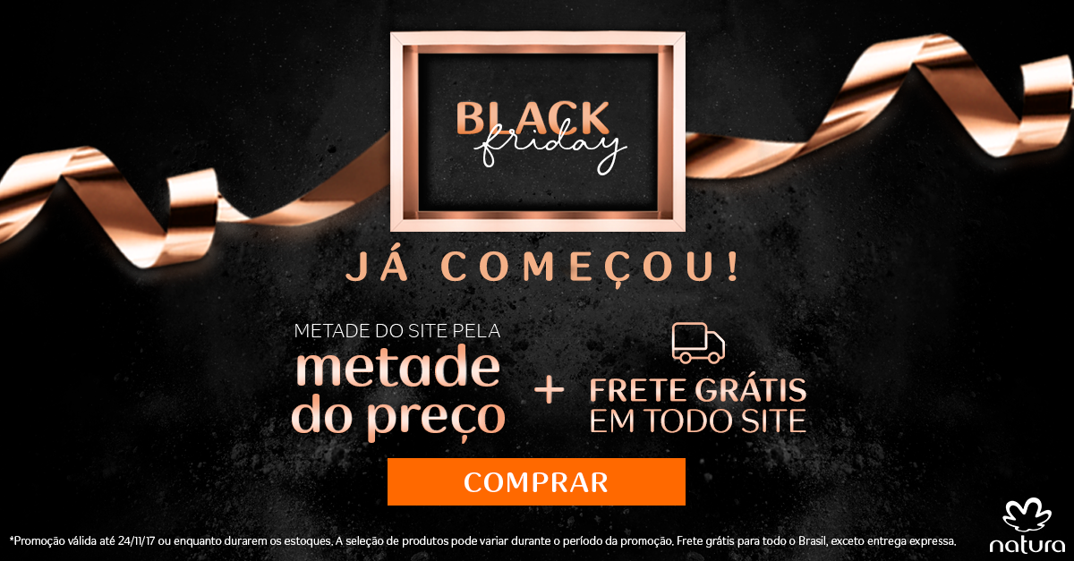 Black Friday Rede Natura 2017