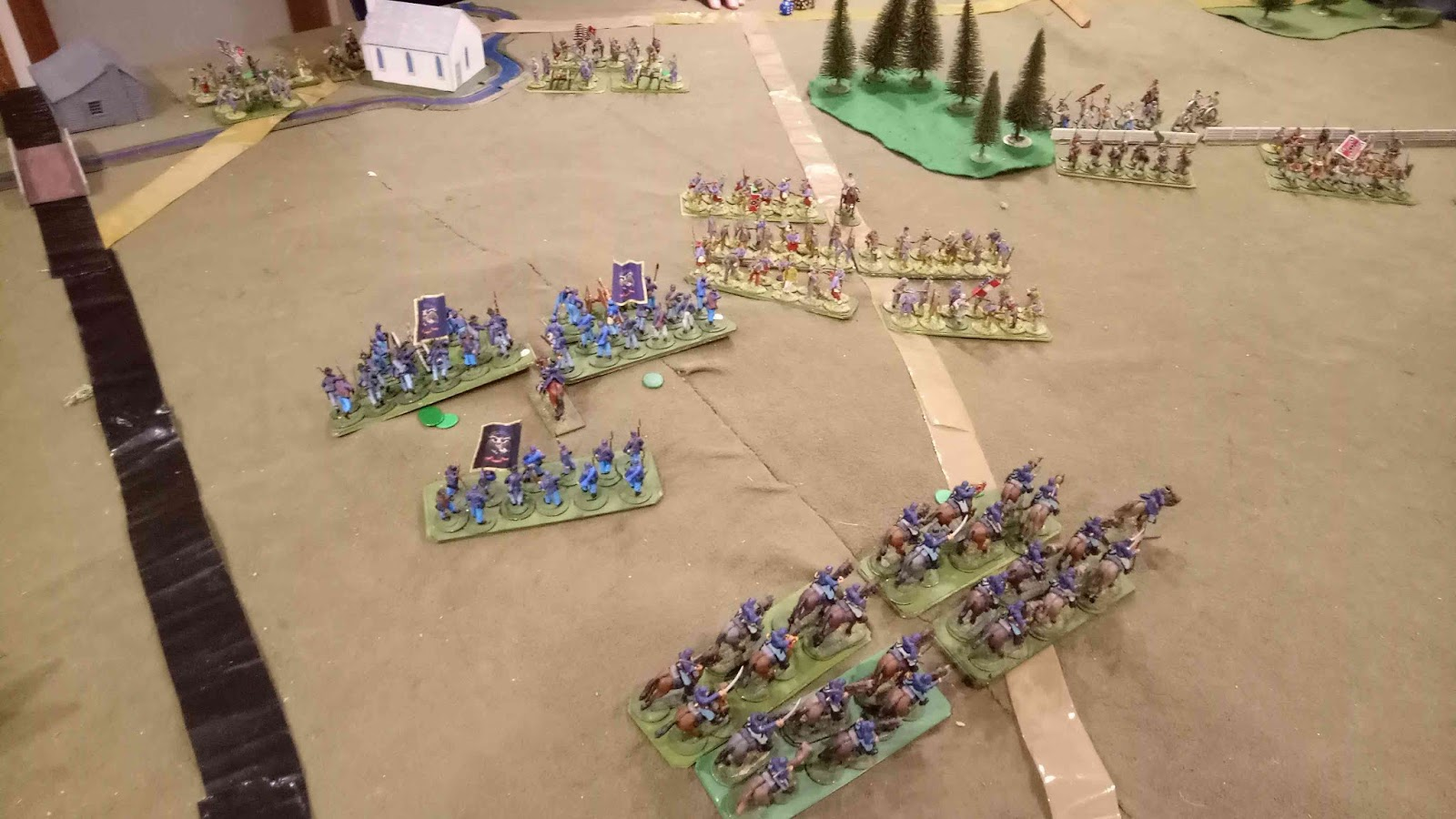 Camp Cromwell: Battle of Kerston 1862: Scenario from Black
