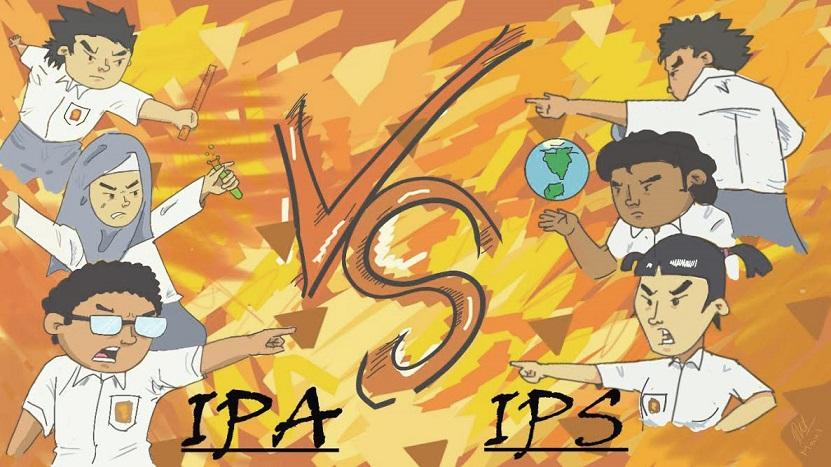 Milih Jurusan IPA atau Jurusan IPS
