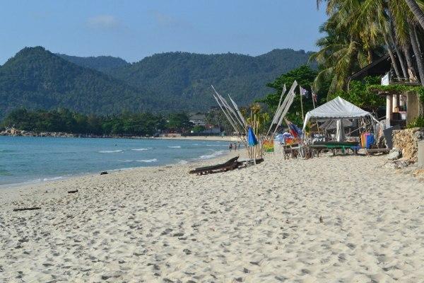 Белоснежный пляж в Таиланд
