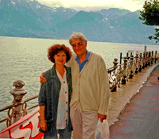 Rainey and Hopkins Lake Lucerne, Switzerland, 1996