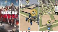 Spara agli Zombie nel mondo reale nel gioco The Walking Dead di realtà aumentata