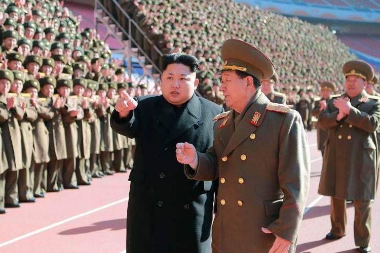 Gara-gara Duduk Tidak Sopan, Pejabat Korea Utara Dihukum Mati