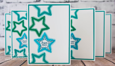 Congratulations Cards for My Stampin' Super Stars And A Peek At What Inspired It.  Join Stampin' Up! UK here