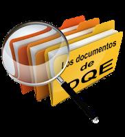 Sección de documentos subidos por DQE