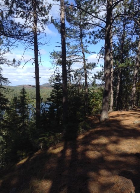 hiking the Highlands Backpacking Trail in Algonquin Park
