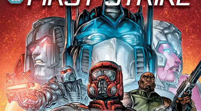 Transformers, G.I. Joe and M.A.S.K Teams Up In New Hasbro Universe' First Strike Event Series.