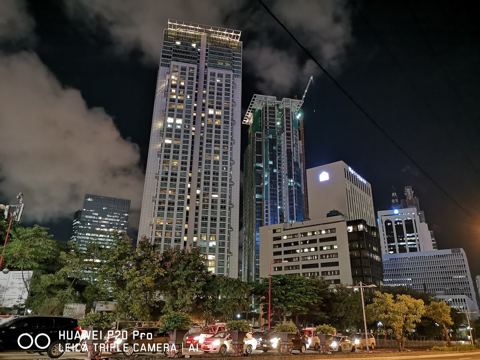Huawei P20 Pro Sample Low Light Shot