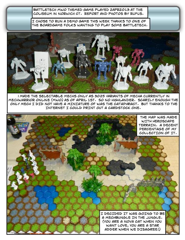 Wargame Dork: April 2013