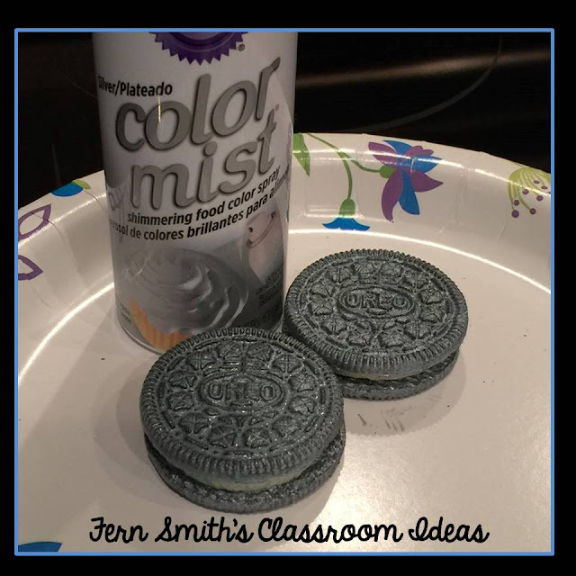 Fern Smith's Classroom Ideas Gold or Silver Oreo Cookie Coins for some St. Patrick's Day Fun in your Classroom!