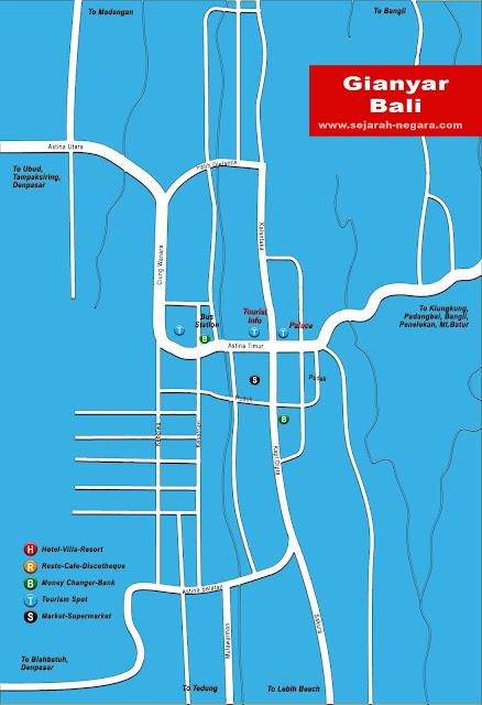 image: Gianyar Map High Resolution