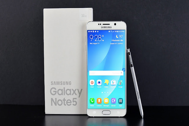 How to use scroll capture in Galaxy Note 5