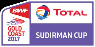 Total BWF Sudirman Cup (Piala Sudirman) 2017
