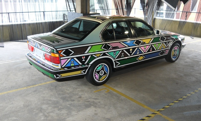 Esther Mahlangu art car