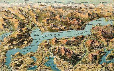Cartina Geografica Del Lago Maggiore.Appunti Retrodatati Il Lago Maggiore Il Re Del Verbano