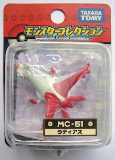 Latias figure Tomy Monster Collection MC series