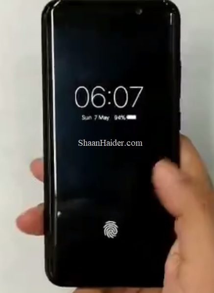 Vivo Under Display Ultrasonic Fingerprint Scanner