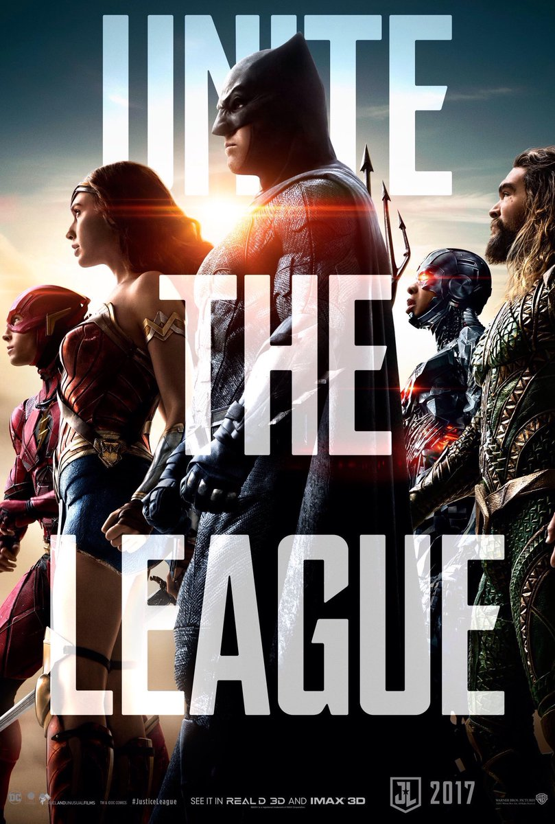 Justice League 2017 Movie New Poster