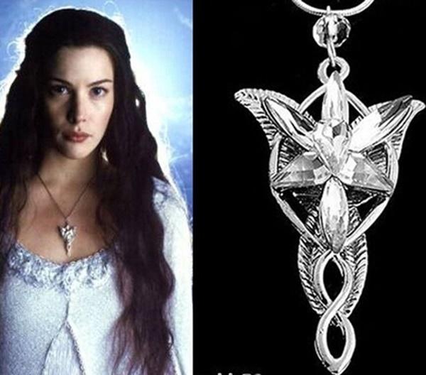 colar pingente Arwen Estrela Vespertina O Senhor dos Anéis