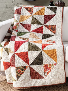 Cozy and comfortable fall quilt pattern
