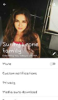 Sunny Leone hot whatsapp group links