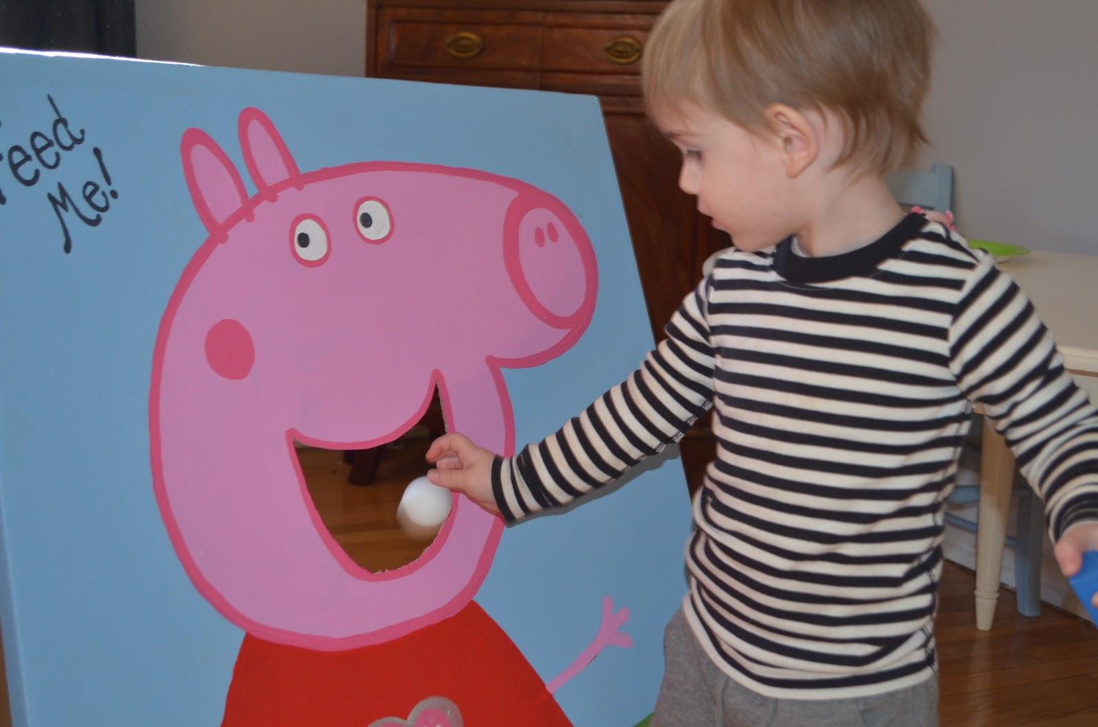 Three Friends Paint: Emerson's Peppa Pig Birthday