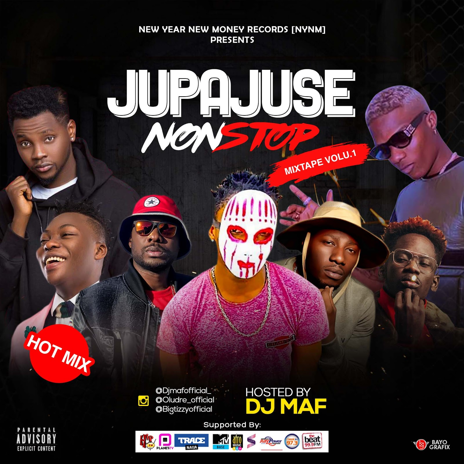 Download Fresh Mixtape: Jupa Juse Non Stop Mix  Vol 1 Hosted By