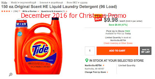 Tide coupons december