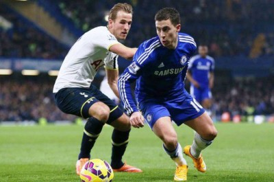 Chelsea Eden Hazard And Tottenham Hotspur Harry Kane