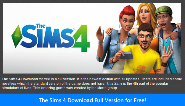 The Sims 4 Download Full Version for Free