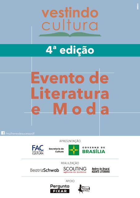 Convite - Seminário Vestindo Cultura: Literatura e Moda