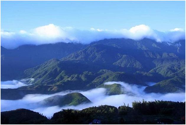 Pù Luông mây núi trùng điệp, nét đẹp hoang sơ đến mê người