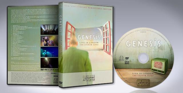 Resultado de imagen de Genesis live at the Lyceum 1980 (remaster)