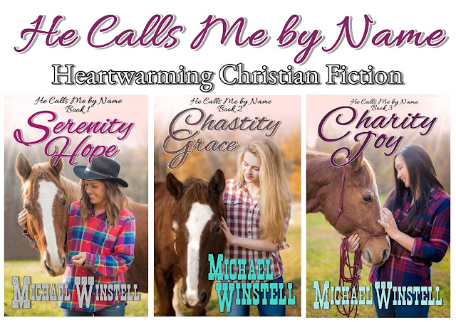 He Calls Me by Name series, book cover, girls, horses, Jenny V Photography