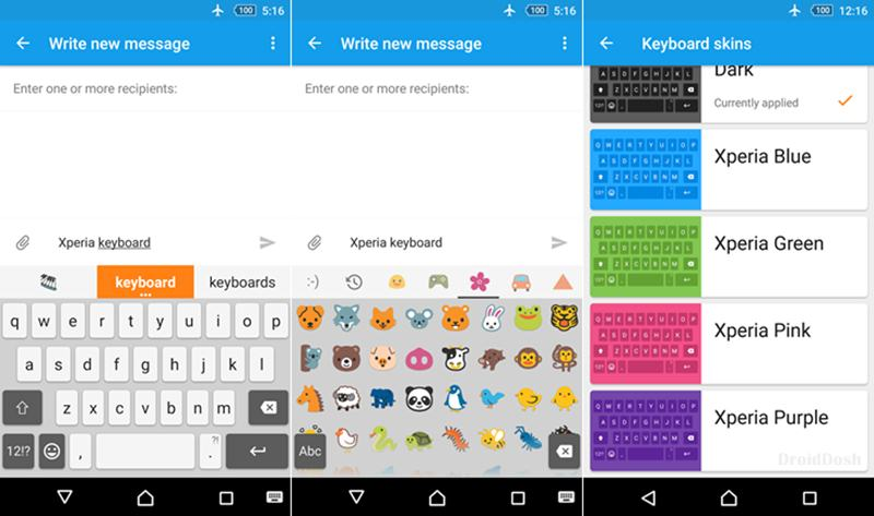 app xperia keyboard v8 0 a apk download. Black Bedroom Furniture Sets. Home Design Ideas