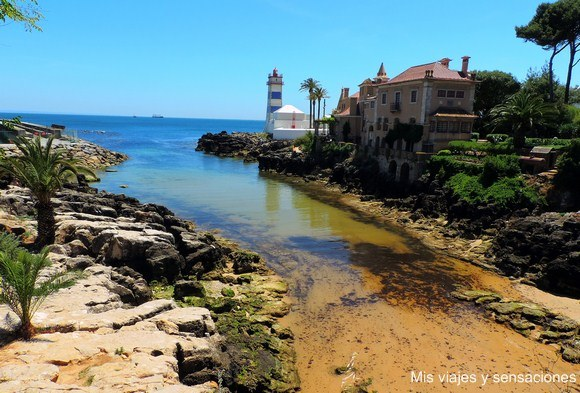 Faro Santa Marta, Cascais, Portugal
